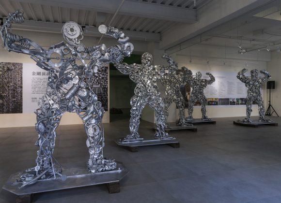 Lines of Iron Men