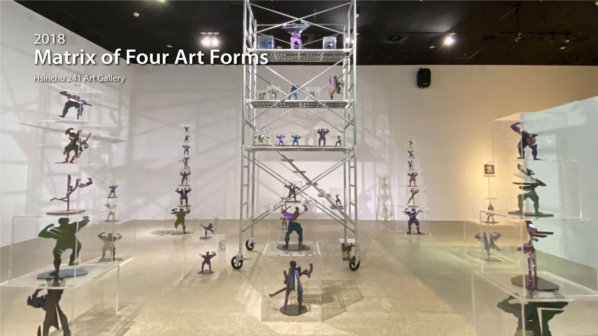 2021|Matrix of Four Art Forms -